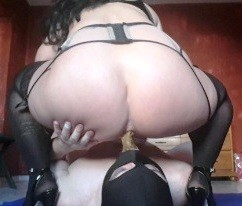 Stockings Goddess Scat Feeding And Piss Drinking