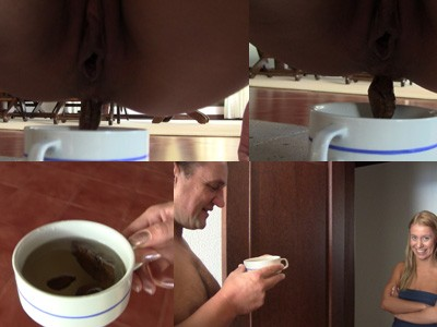 Princess Nikki shit and piss in the cup