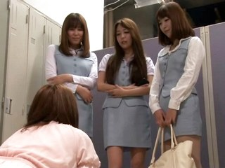 Jealous Office Ladies Ganged up on new girl! Part 1 HD