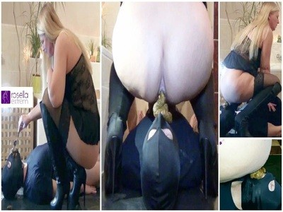 Perverse FemDom Session! Shit, Facesitting, snot and piss for the slave! Full Movie